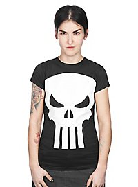 The Punisher - Girlie Shirt Logo