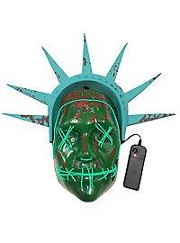 The Purge Freiheitsstatue Leuchtmaske