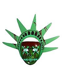The Purge Lady Liberty Maske