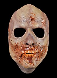 The Walking Dead Angefressener Zombie Halbmaske aus Latex