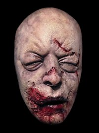 The Walking Dead Aufgequollener Zombie Halbmaske aus Latex