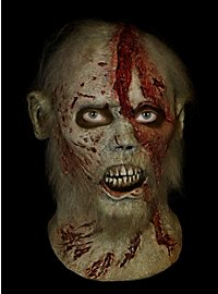 The Walking Dead Bärtiger Zombie Maske aus Latex