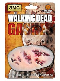 The Walking Dead Gashes Latex Prosthetics