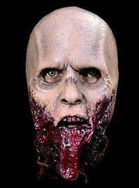 The Walking Dead Kieferloser Zombie Halbmaske aus Latex