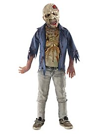 The Walking Dead Verfaulter Zombie Kinderkostüm (Fehlerhafte Ware)
