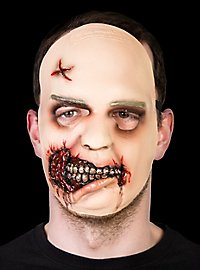 The Walking Dead Zombie Mädchen Maske aus Latex