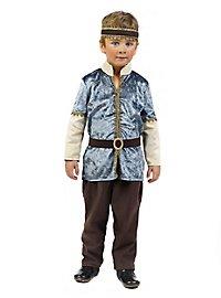 Throne heir medieval costume for children