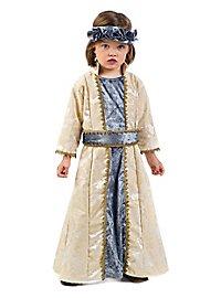 Throne heiress medieval costume for children