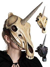 Tiermaske - Einhornschädel