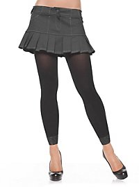Tights with Lace Trim