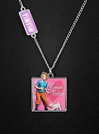 Tintin Necklace pink