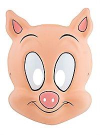 Tiny Toons Hamton J. Pig PVC Kids Mask