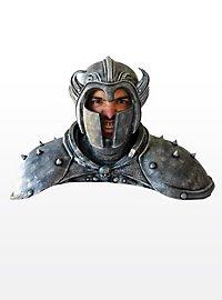 Todesritter Maske mit Schulterpanzer