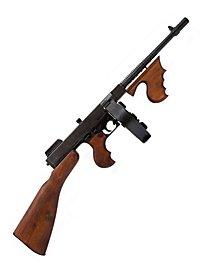 Tommy Gun Maschinenpistole Dekowaffe