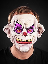 Toothy Horror Clown Latex Full Mask