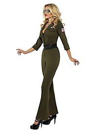 Top Gun Pilotin Kostüm
