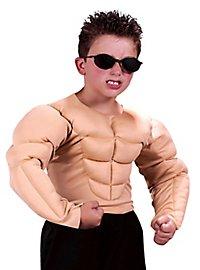 Torse muscles enfant