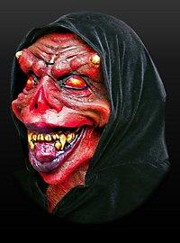 Totenbeschwörer Maske aus Latex