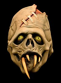 Toxic Toons Green Fang Latex Full Mask