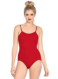 Träger-Bodysuit rot