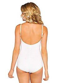Träger-Bodysuit weiß