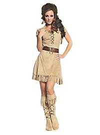 Trapper costume for ladies