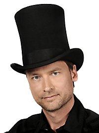 Très grand chapeau haut-de-forme noir