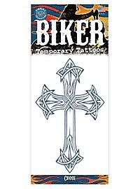 Tribal Kreuz Klebe-Tattoo