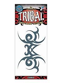 Tribal Ornament Klebe-Tattoo