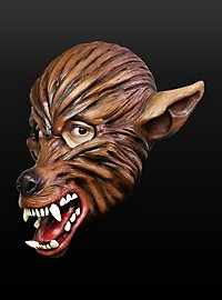 Trickfilm Werwolf Maske aus Latex
