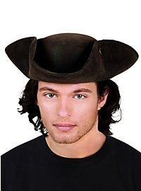 Tricorne Hat brown