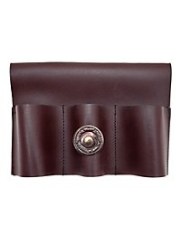 Triple Dagger Holder brown