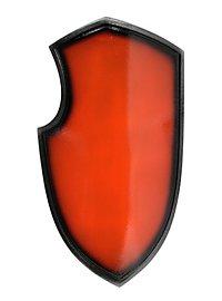 Turnierschild rot Polsterwaffe