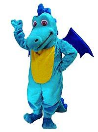 Turquoise Dragon Mascot
