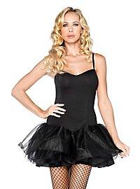 Tutu Kleid schwarz mit abnehmbaren Trägern
