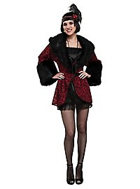 Twenties Coat red & black