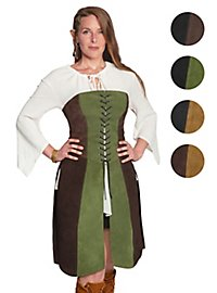 Two-coloured bodice skirt - Novice