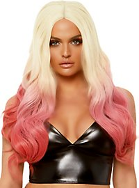 Two-Tone Perücke blond-pink
