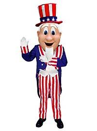 Uncle Sam Mascot