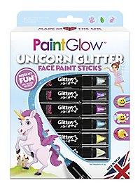 Unicorn Glitter make-up set for children