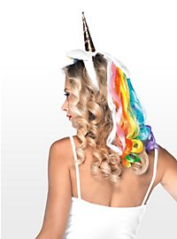 Unicorn Hair Band rainbow