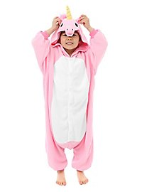 Unicorn Kigurumi kid's costume pink