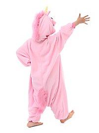 Unicorn Kigurumi kid's costume pink