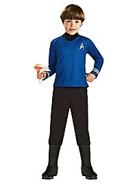 Uniforme bleu Star Trek enfant
