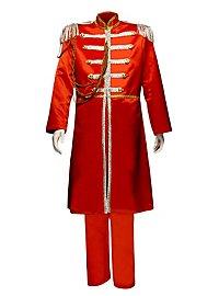 Uniforme groupe pop «Sgt. Pepper» rouge