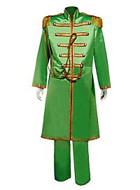 Uniforme groupe pop «Sgt. Pepper» vert