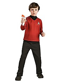 Uniforme rouge Star Trek enfant