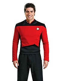 Uniforme rouge Star Trek The Next Generation
