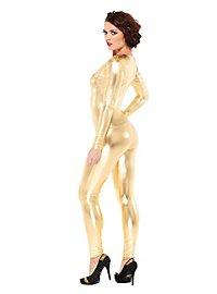 Unitard gold