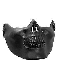 Unterkiefer Maske schwarz